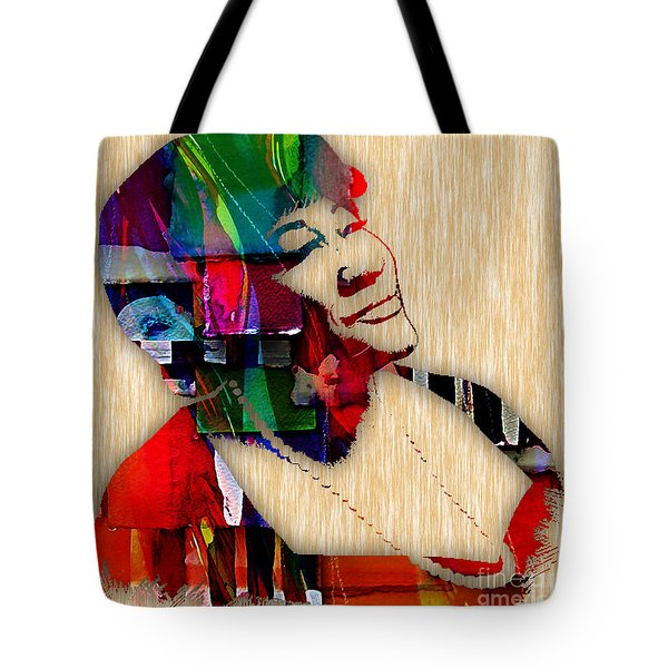 Ella Fitzgerald Collection Tote Bag by Marvin Blaine