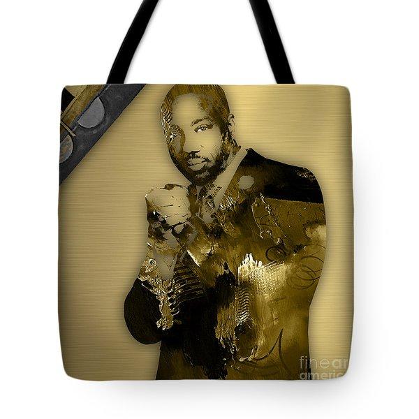 Empire's Malik Yoba Vernon Turner Tote Bag by Marvin Blaine