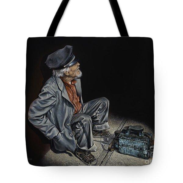 Empty Pockets Tote Bag