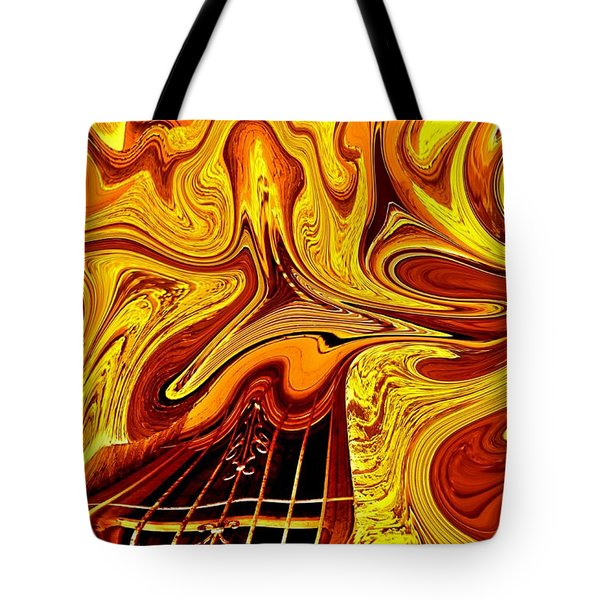 Escape Clause Tote Bag by Nick David
