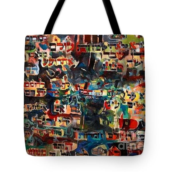 Eternal Happiness Tote Bag by David Baruch Wolk