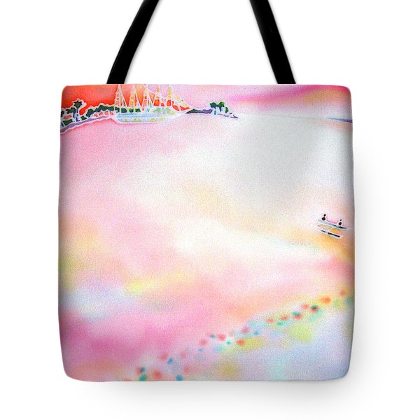 Evening Cruise Tote Bag