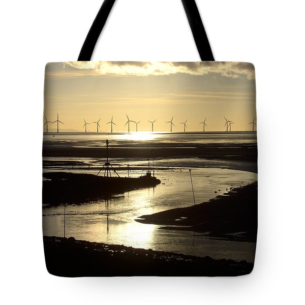 Evening Low Tide  Tote Bag