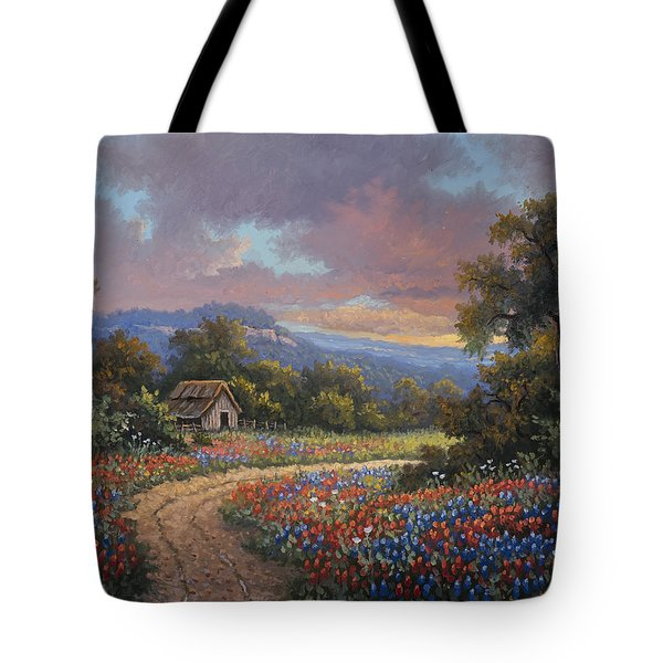 Tote Bag featuring the painting Evening Medley by Kyle Wood