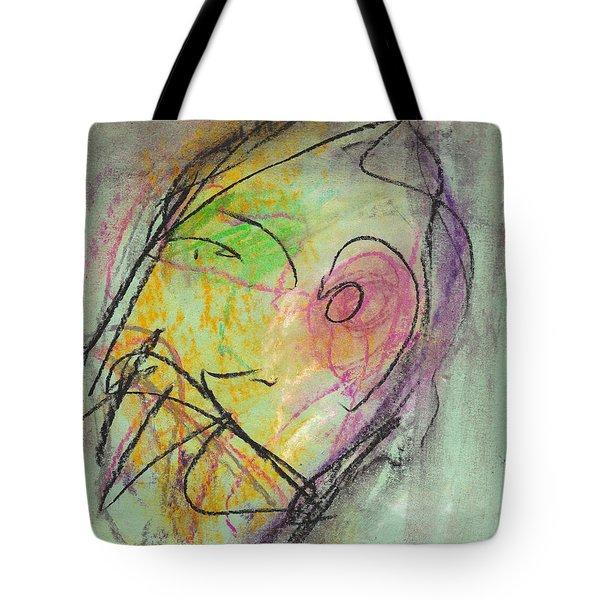Face Study No. 10 Tote Bag