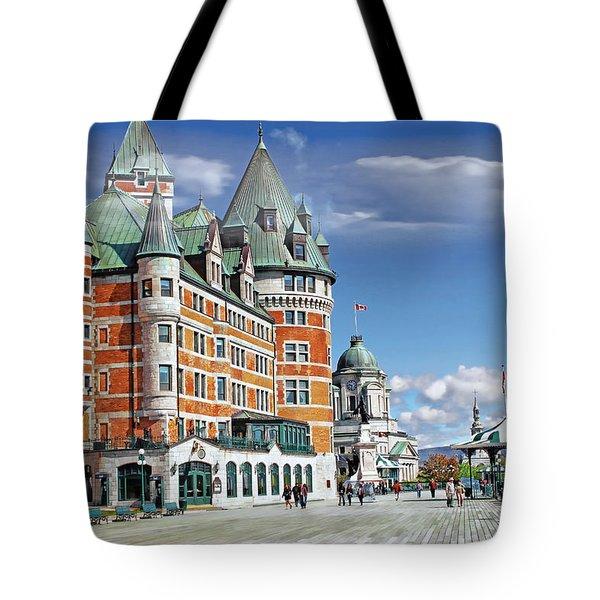 Fairmont Le Chateau Frontenac Series 01 Tote Bag
