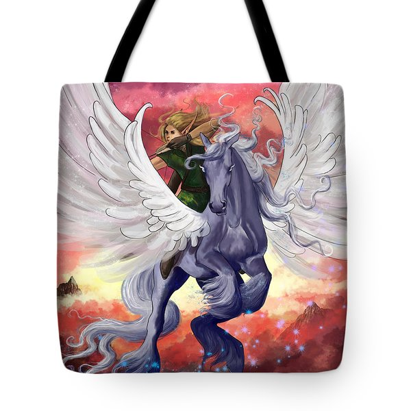 Fearless Tote Bag by Kate Black