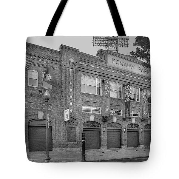 Fenway Park - Best Of Boston Tote Bag by Susan Candelario
