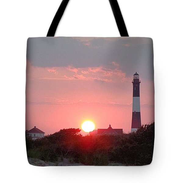 Fire Island Sunset Tote Bag