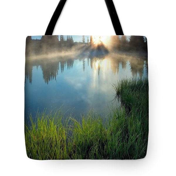 First Light Tote Bag by Mike  Dawson