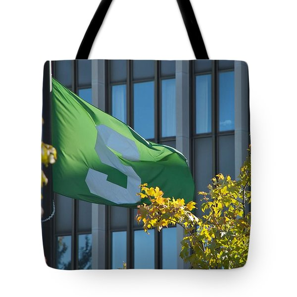 Flag Tote Bag by Joseph Yarbrough
