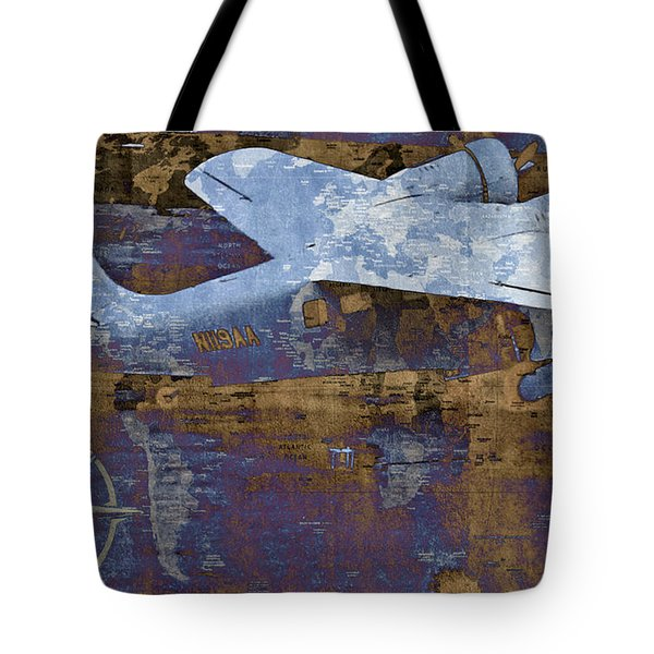 Flight Tote Bag by Molly McPherson