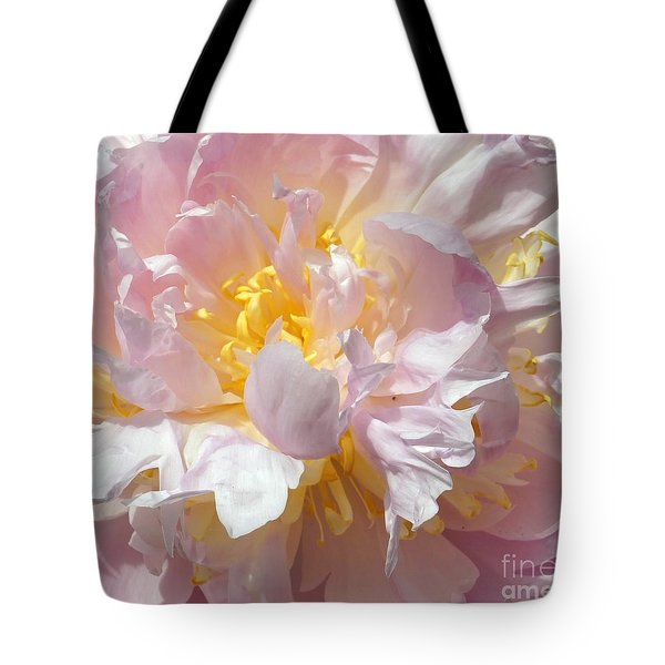 Tote Bag featuring the photograph Flirtatious Pink by Lilliana Mendez