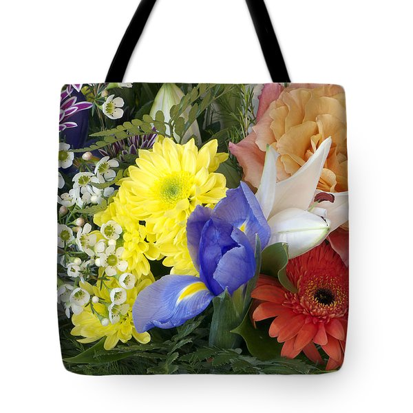 Floral Bouquet 4 Tote Bag by Sharon Talson