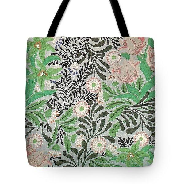 Floral Design Tote Bag by William Morris
