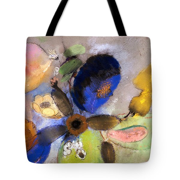 Flowers Tote Bag by Odilon Redon