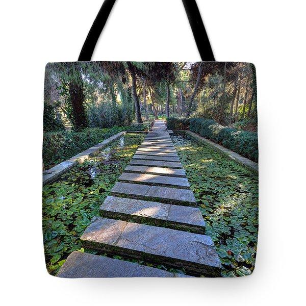 Footpath Tote Bag by George Atsametakis