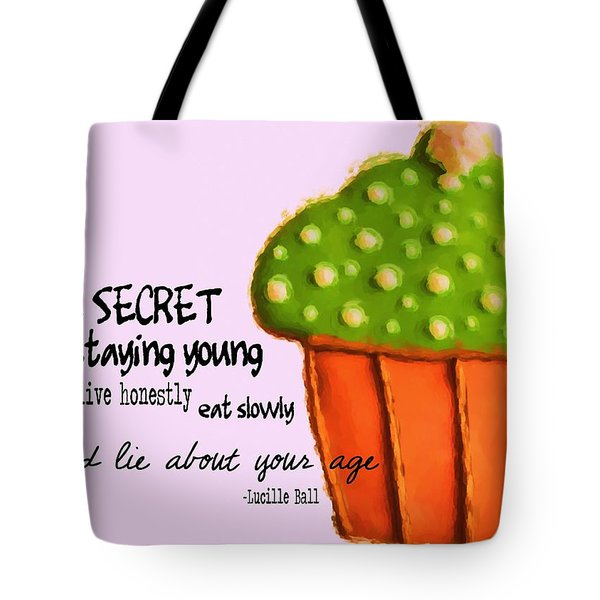 Forever Young Quote Tote Bag by JAMART Photography