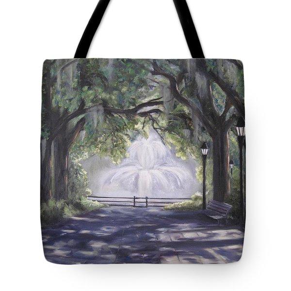 Forsythe Park Tote Bag