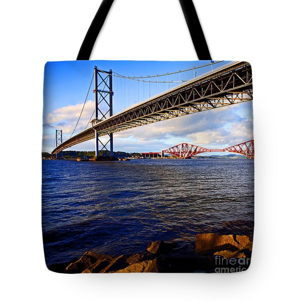 Forth Bridges Tote Bag
