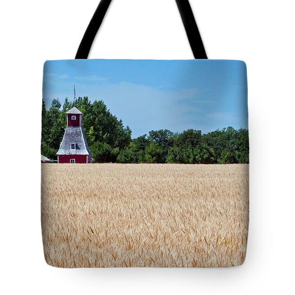 Fox Tower Tote Bag by Keith Armstrong