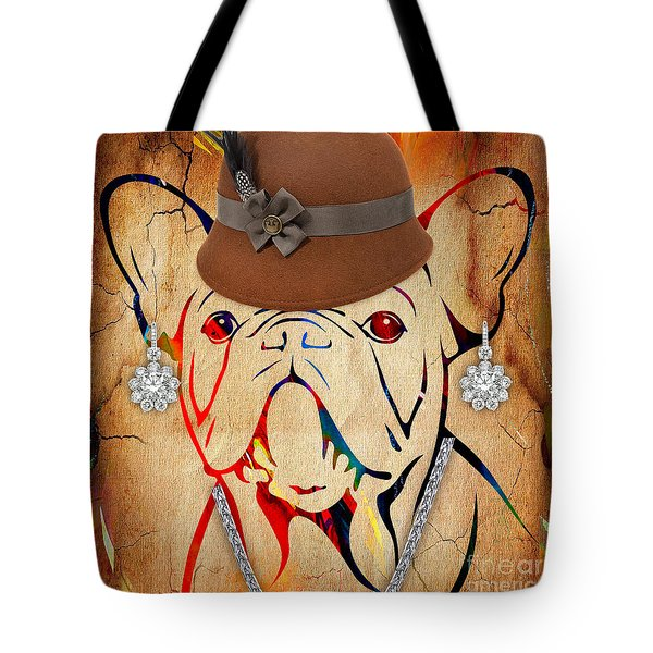 French Bulldog Collection Tote Bag
