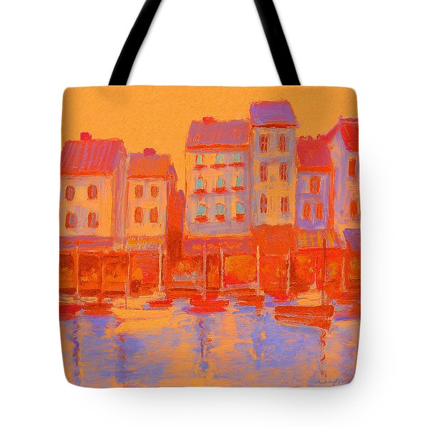 French Harbor Tote Bag