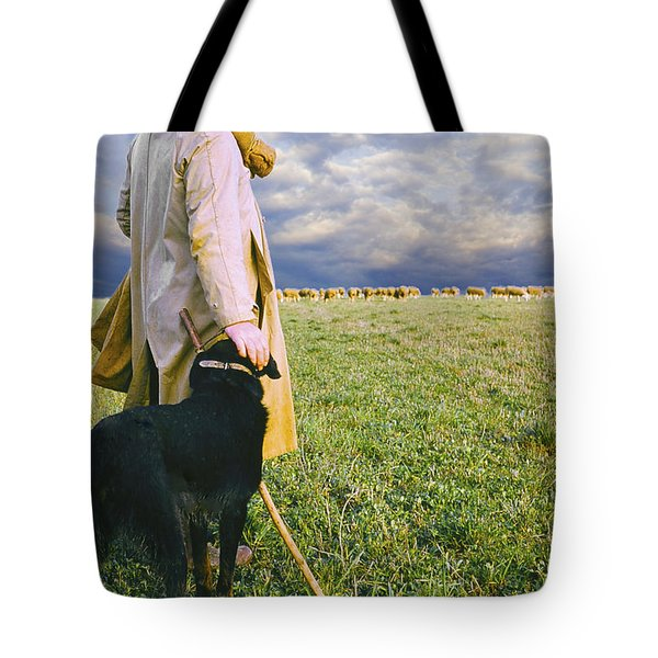 French Shepherd Tote Bag by Chuck Staley