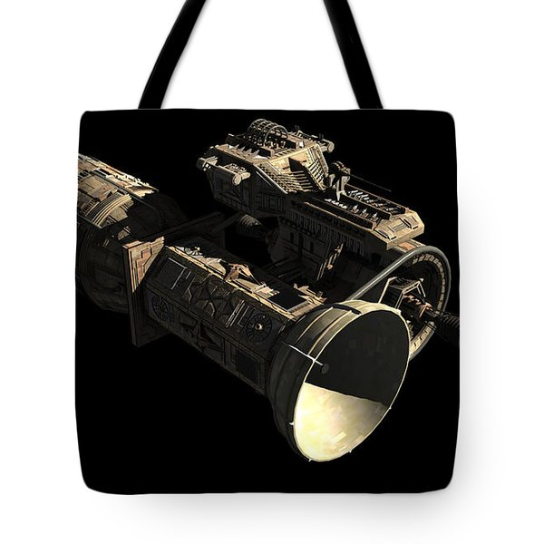 Frenchbulgarian Orbital Weapons Tote Bag by Rhys Taylor
