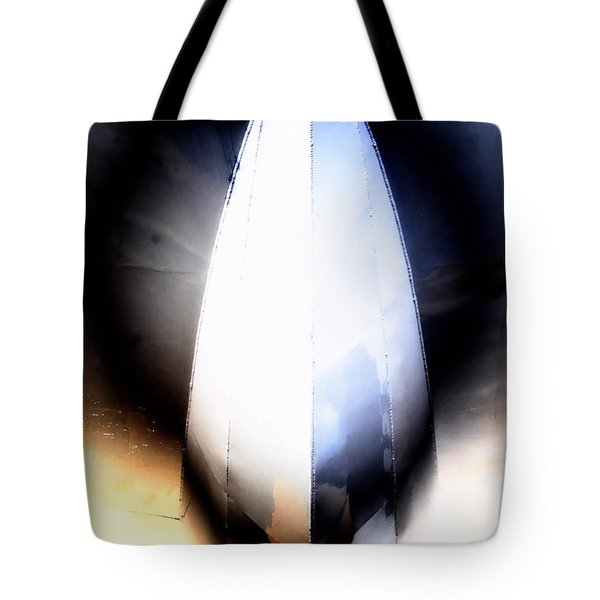 From Below Tote Bag by Newel Hunter