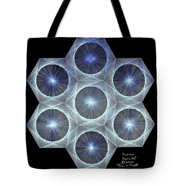 Fusion Tote Bag by Jason Padgett