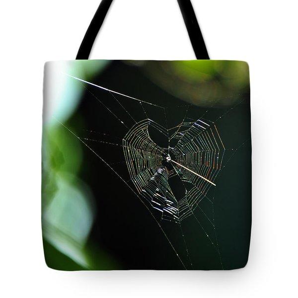 Garden Valentine Tote Bag