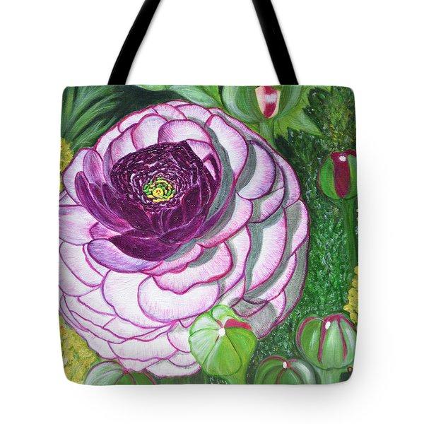 Garnet Punch Tote Bag by Donna  Manaraze