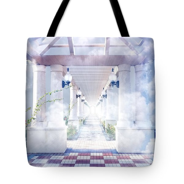 Gateway To Heaven Tote Bag