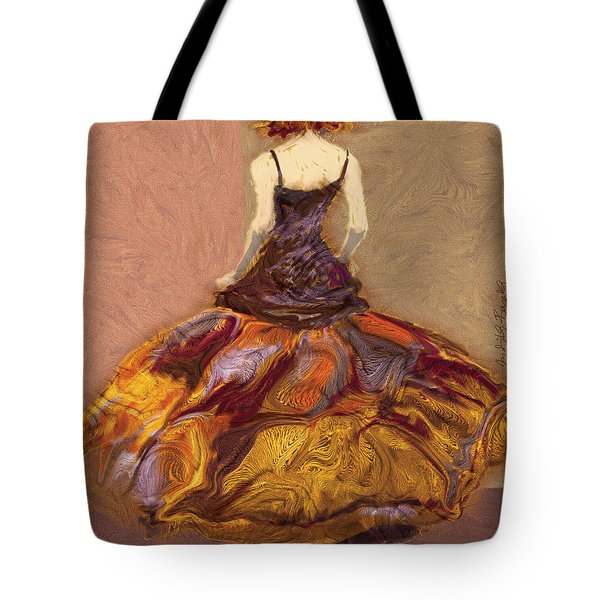 Girl Tote Bag