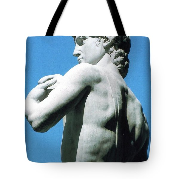Glance At David Tote Bag