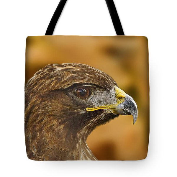 Tote Bag featuring the photograph Golden Eagle  by Brian Cross