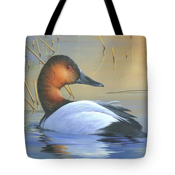 Golden Reflections Tote Bag