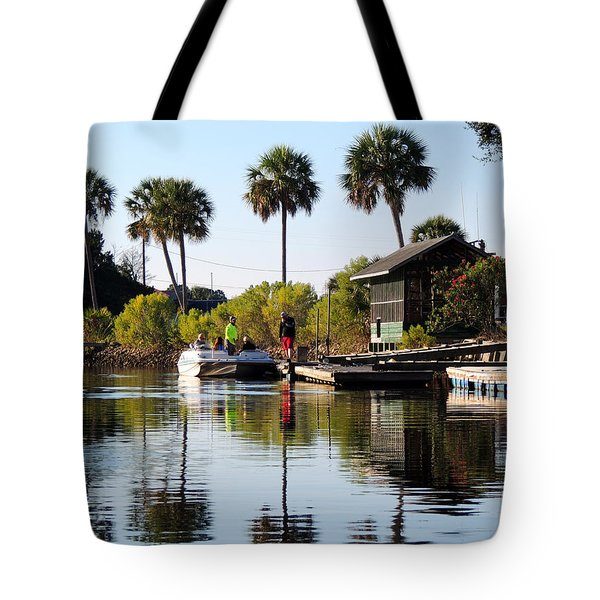 Gone Fishing Tote Bag