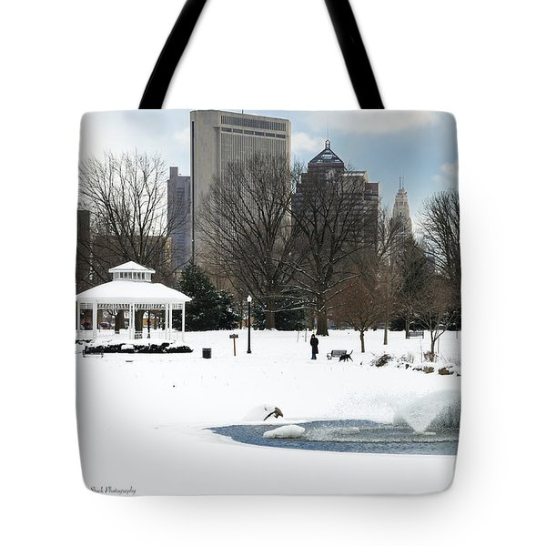 D48l3 Goodale Park Photo Tote Bag