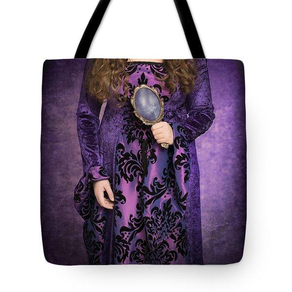Gothic Woman Tote Bag by Amanda Elwell