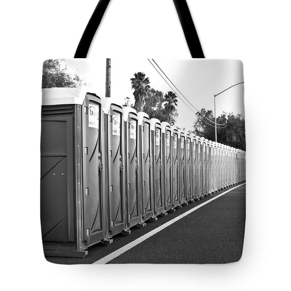 Tote Bag featuring the photograph Gotta Go? by Shane Kelly