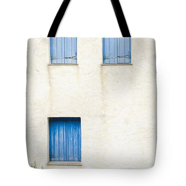 Greek House Tote Bag