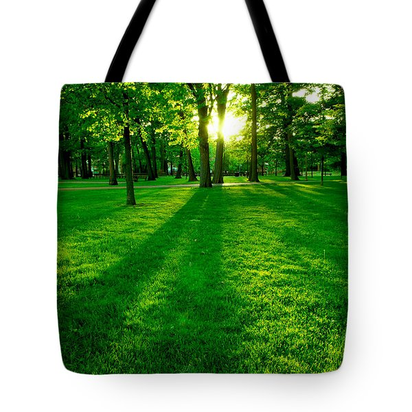 Green Park Tote Bag