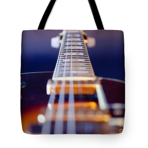 Guitar Tote Bag by Stelios Kleanthous