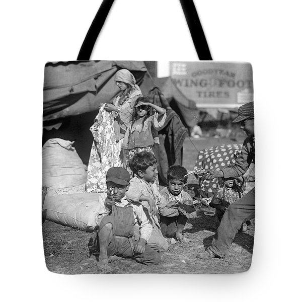 Tote Bag featuring the photograph Gypsies, C1923 by Granger