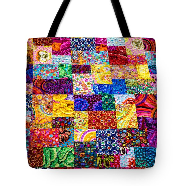 Hand Made Quilt Tote Bag by Sherman Perry