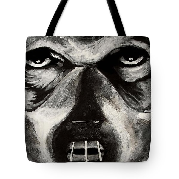 Tote Bag featuring the painting Hannibal by Dale Loos Jr