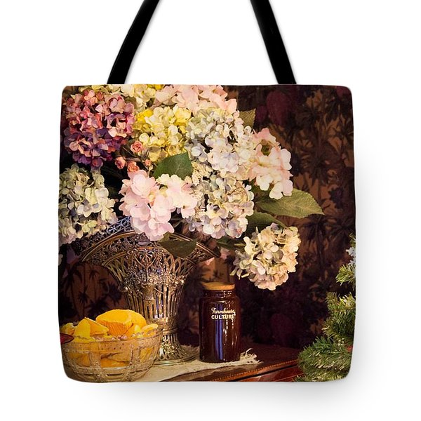Tote Bag featuring the photograph Happy Holidays by Patricia Babbitt