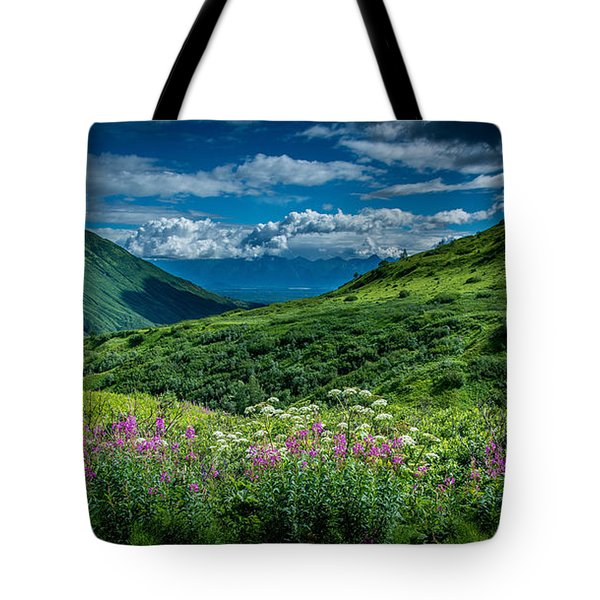 Hatcher's Pass Tote Bag
